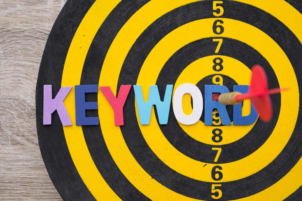 Keyword Ranking in Google Analytics