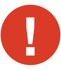 warning symbol site issues