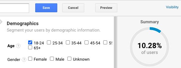 segment demographic