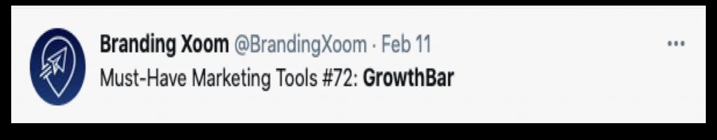 GrowthBar