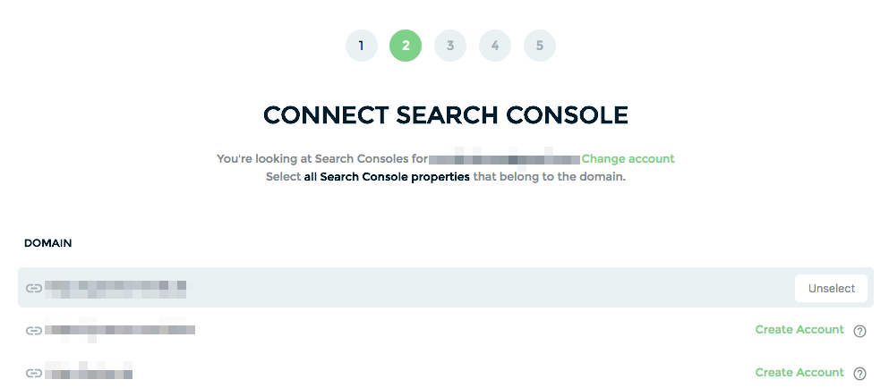 connecting search console to keyword hero