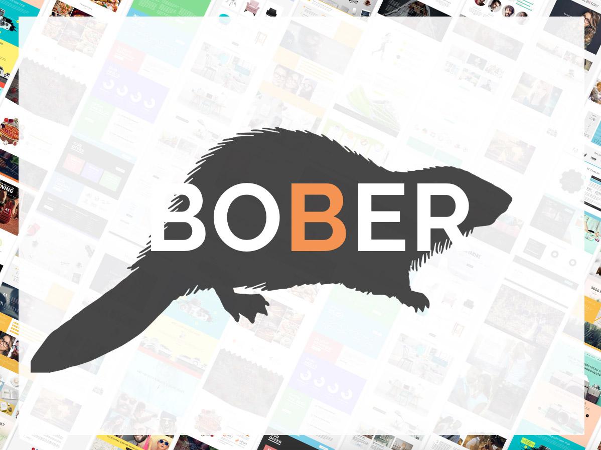 Bober - Creative Responsive Minimalistic WordPress Theme